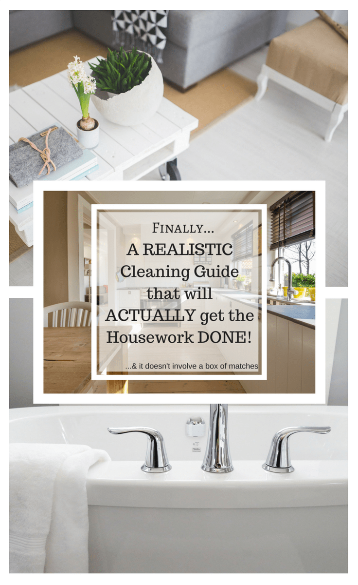 Finally a Realistic cleaning schedule that actually works