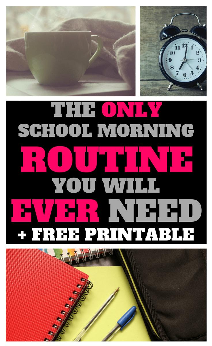 alarm clock, school morning, morning coffee, school routine, school books
