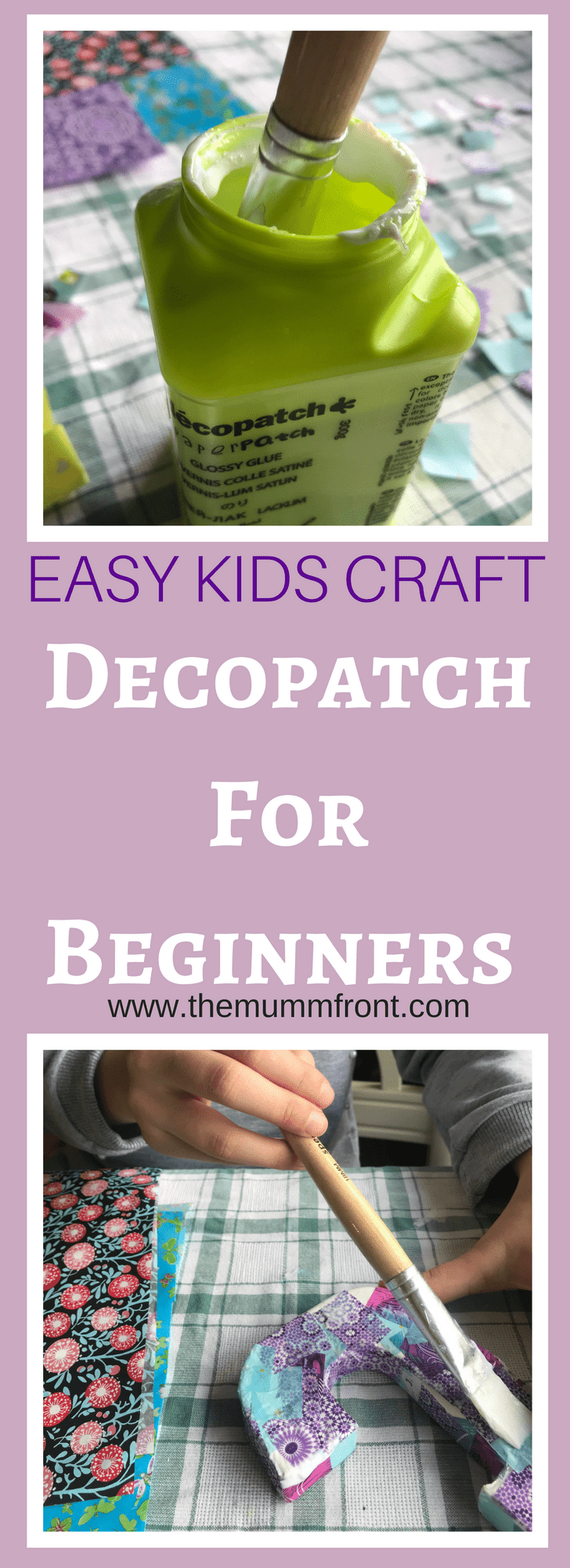 decopatch for kids | simple decopatch activity | Kids crafts ideas | kids arts and crafts