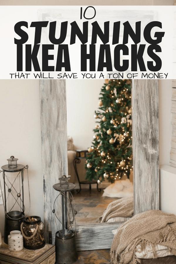 10 stunning ikea hacks that will save you a ton of money #homedecoronabudget #ikeahack #diyhomedecor