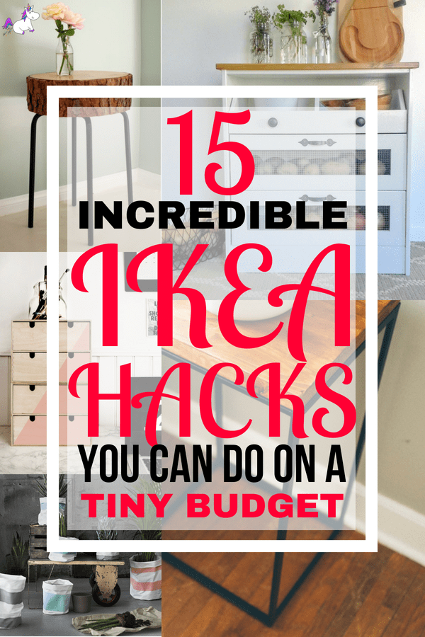 15 DIY Hacks From Ikea You Can Do On A Tiny Budget #ikeahacks #homedecorideas #homedecordiy #diy