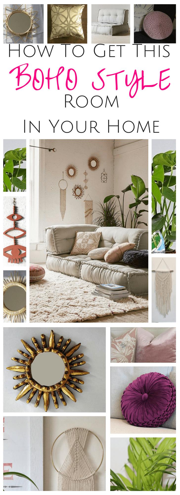 Boho style Room Decor | Home Decor
