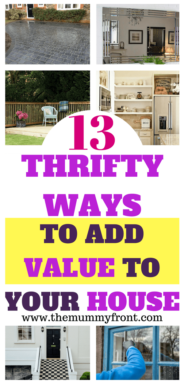 13 Thrifty ways to add value to your house, increase home value