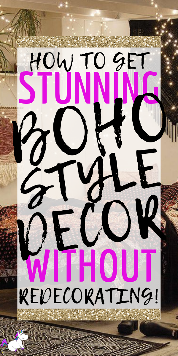 How To Get Stunning Bohemian Style In Your Home Without Redecorating | home decor inspiration | Boho Style | Rustic Style | creative home decor | Via: https://themummyfront.com #themummyfront #bohostyledecor #boho #bohemiandecor #creativehomedecor #homedecorinspiration
