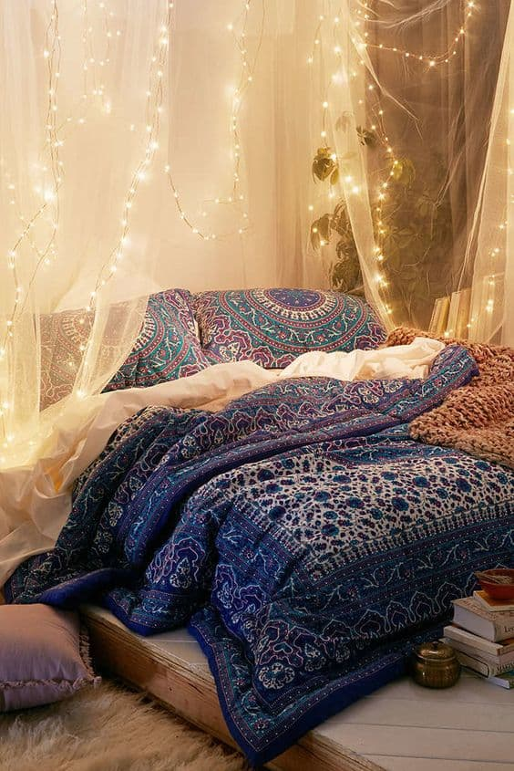 Beautiful Boho Bedroom | Bohemian style Home Decor