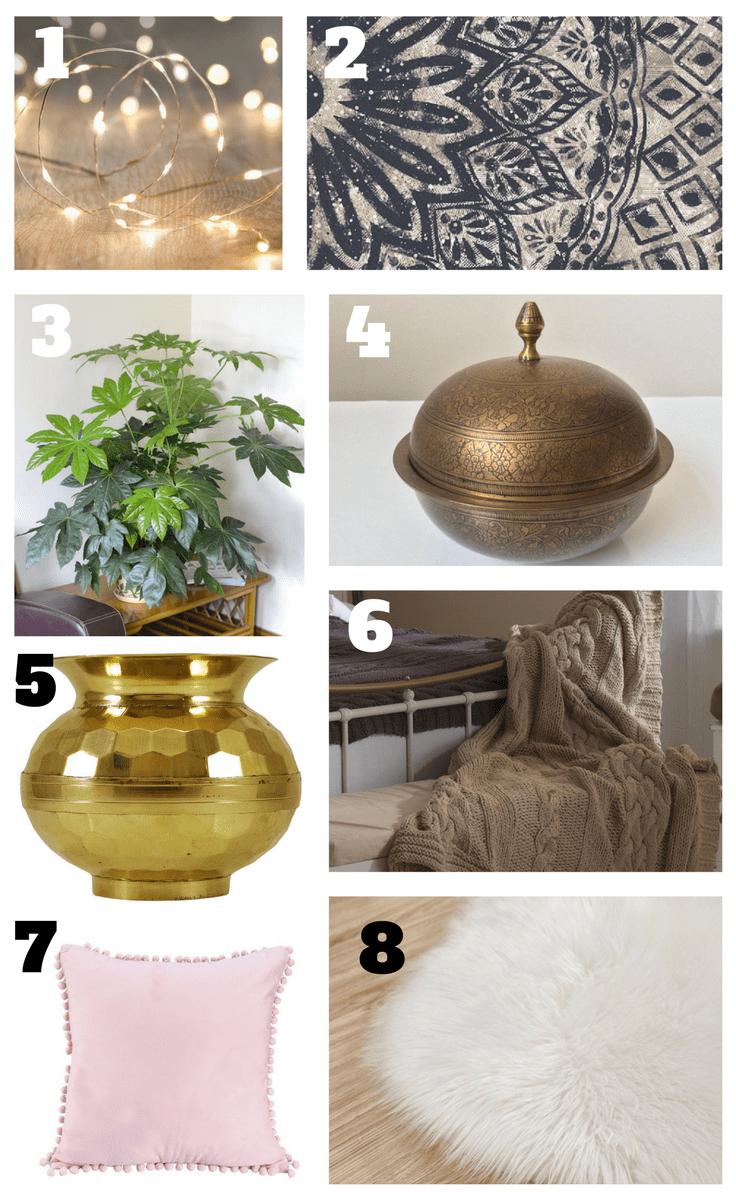 Boho Home Decor Products | Stunning Boho Style