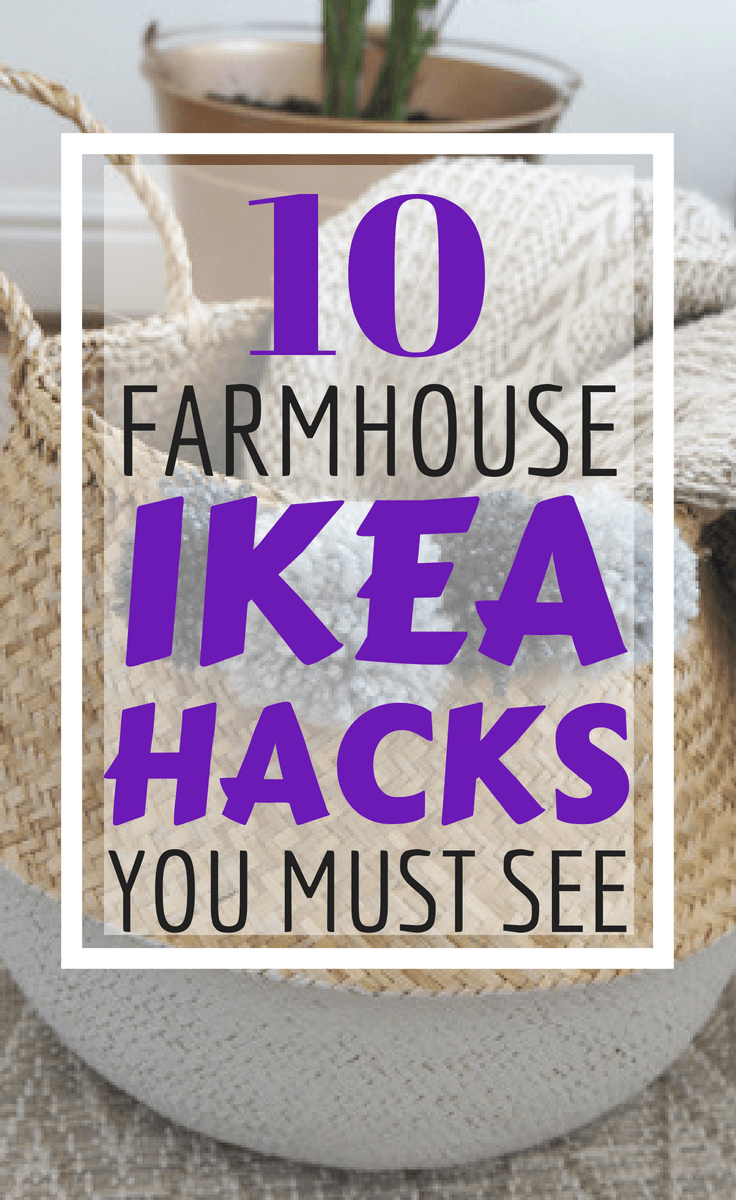 10 Farmhouse Ikea Hacks You Must See | Cheap Home Decor Hacks That Look Awesome | DIY Home Decor | Via: https://themummyfront.com | budget home decor #ikea #ikeahacks #ikeaideas #farmhouse #farmhousestyledecor #farmhousedecor #homedecor #themummyfront #budgethomedecor #cheap #roomidea #homedecordiy #diy