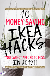 10 Money Saving Ikea Hacks You Cannot Afford To Miss #ikeahacks #homedecor #homedecorprojects #diyhomedecor #homedecorinspiration #themummyfront Via: https://themummyfront.com | home decor on a budget | diy home decor |