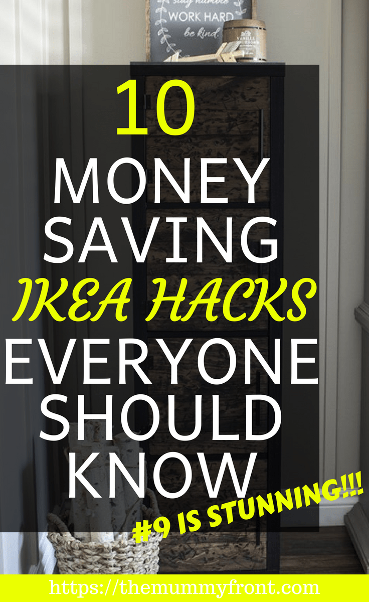 10 MOney saving Ikea Hacks Everyone Should Know #ikea #ikeahack #ikeahacks #ikeadiy #diy #diyhomedecor #homedecor