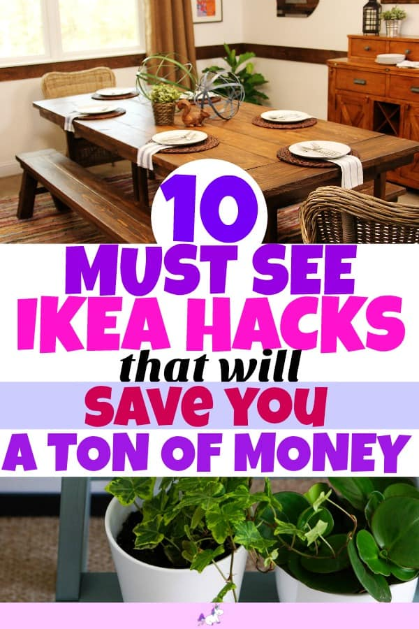 IKEA hacks for the home #ikeabedroomhacks #ikeahackslivingroom #ikeahacksdiy #ikeahacksstorage #ikeahacksideas #ikeahackswardrobe #ikeahackshallway #ikeahacksgarden