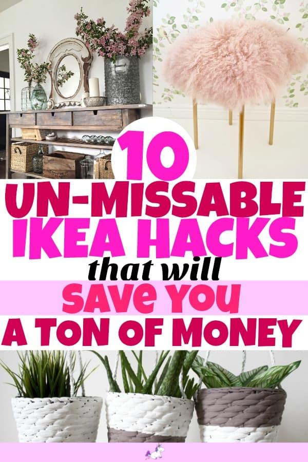 IKEA hacks for the home #ikeabedroomhacks #ikeahackslivingroom #ikeahacksdiy #ikeahacksstorage #ikeahacksideas #ikeahackswardrobe #ikeahackshallway #ikeahacksgarden