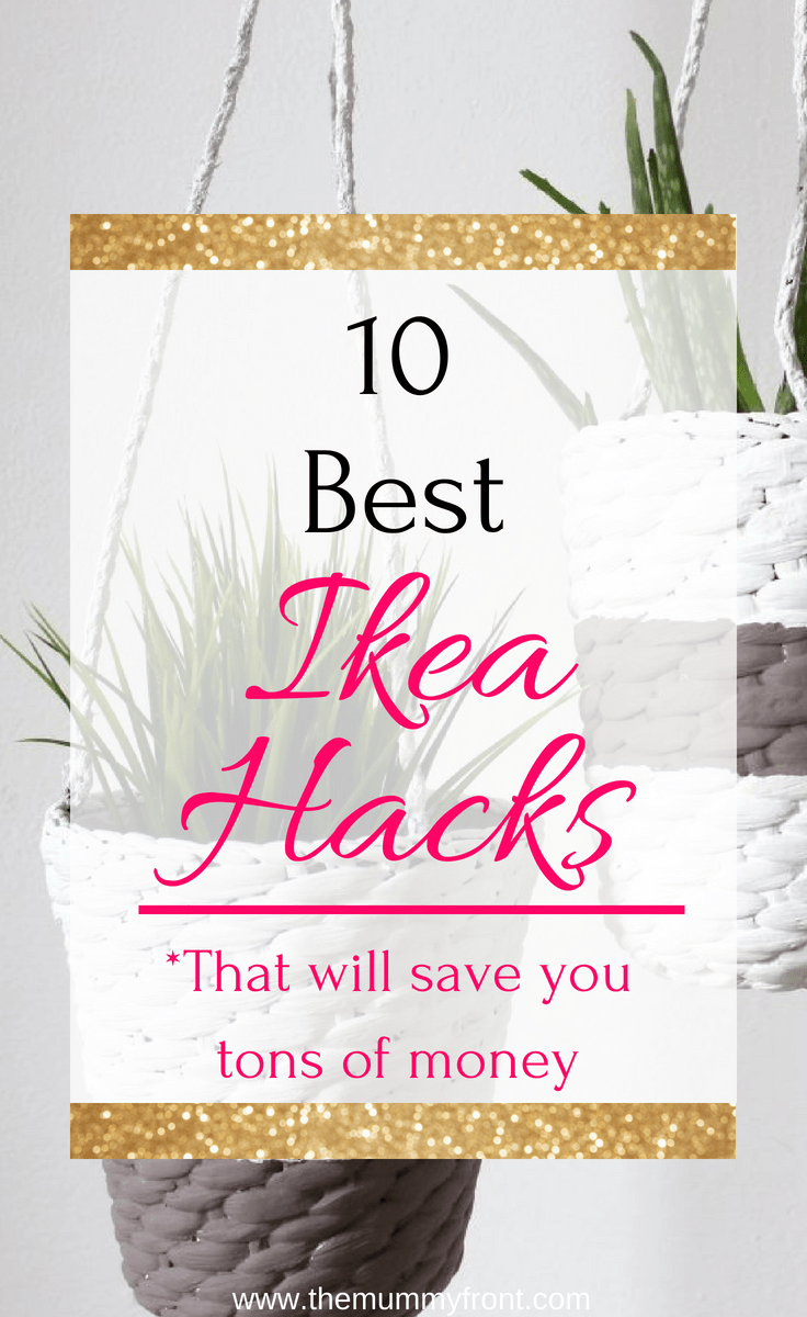 10 best ikea hacks that will save you tons of money #moneysavinghomedecor #homedecor #diy #farmhousediy #rustichomedecor #rustic #boho #bohohomedecor