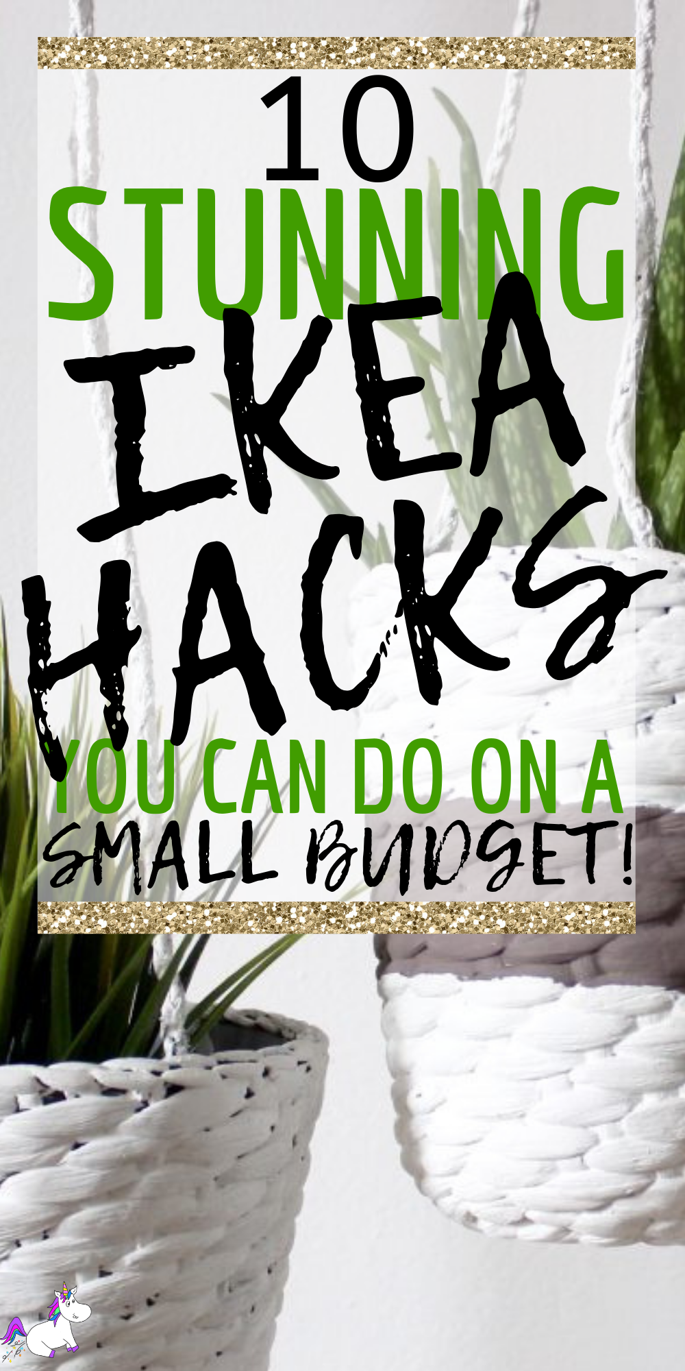 10 Stunning Ikea Hacks For Every Room In Your Home For People Who Love DIY Home Decor On A Budget! #ikeahacks #homedecoronabudget #diyhomedecor #diyhacks