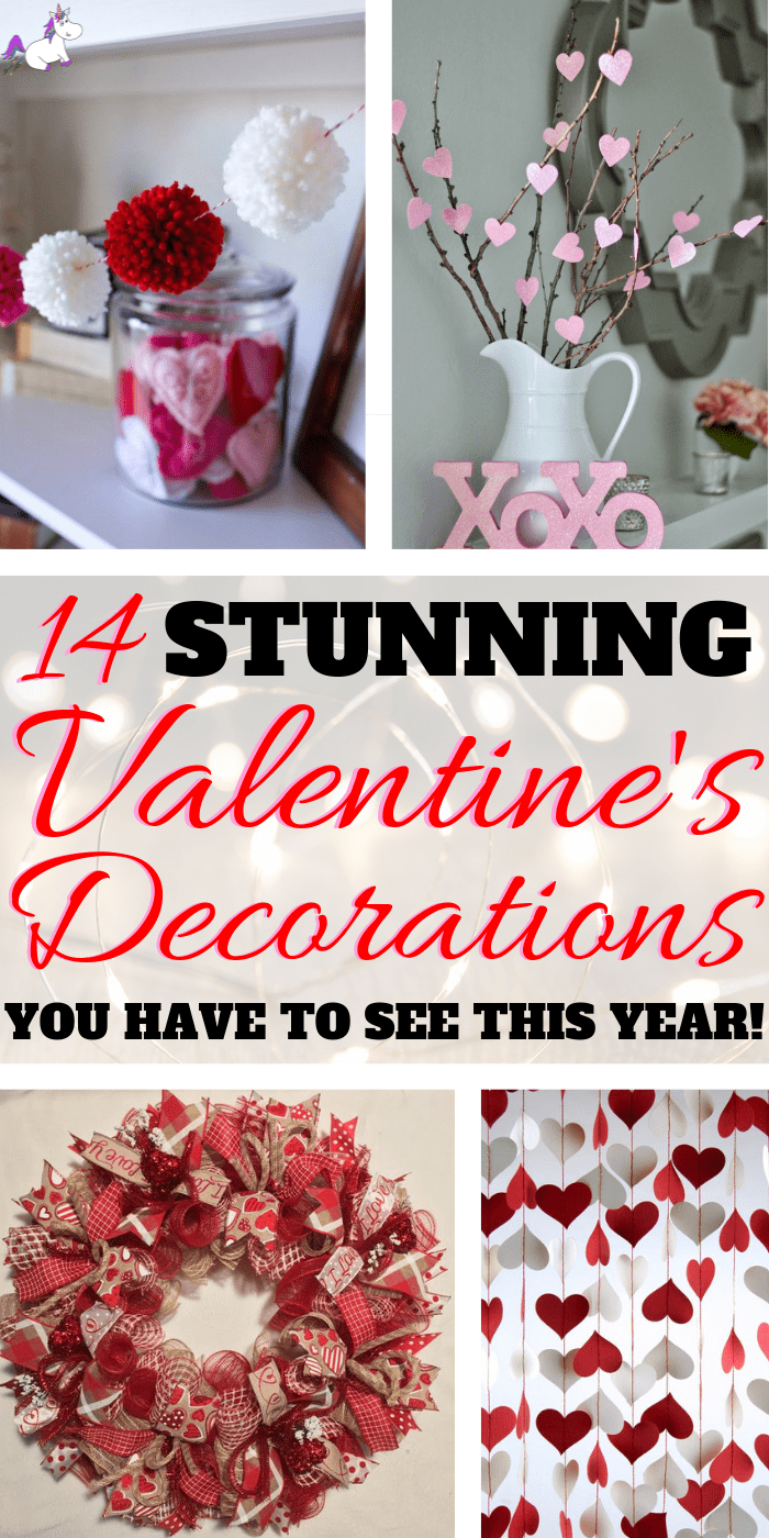 14 Stunning Valentine's Day Decoration Ideas you Will Seriously Fall In Love With This Year! #valentinesdaydecorationideas #valentines #valentinesdaycrafts #valentinesdecor #themummyfront Via: https://themummyfront.com | cute decor | home decor on a budget | Valentines decor for the home | valentine crafts