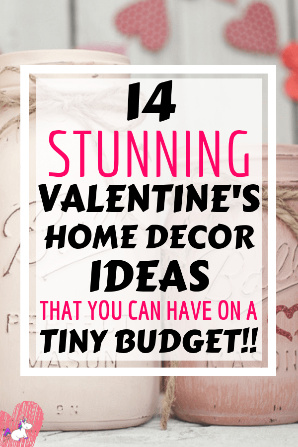 14 Stunning Valentine's Day Decoration Ideas you Will Seriously Fall In Love With This Year! #valentinesdaydecorationideas #valentines #valentinesdaycrafts #valentinesdecor #themummyfront Via: https://themummyfront.com | cute decor | home decor on a budget | Valentines decor for the home | Valentine projects for the home