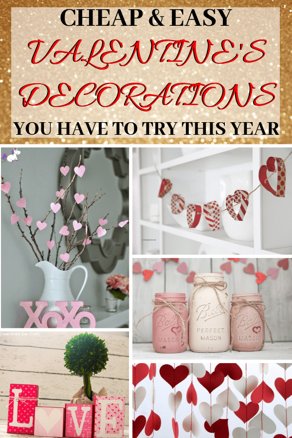 14 Stunning Valentine's Day Decoration Ideas you Will Seriously Fall In Love With This Year! #valentinesdaydecorationideas #valentines #valentinesdaycrafts #valentinesdecor #themummyfront Via: https://themummyfront.com | cute decor | home decor on a budget | Valentines diy