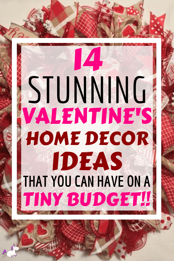 14 Stunning Valentine's Day Decoration Ideas you Will Seriously Fall In Love With This Year! #valentinesdaydecorationideas #valentines #valentinesdaycrafts #valentinesdecor #themummyfront Via: https://themummyfront.com | cute decor | home decor on a budget | Valentines decor for the home | valentines day craft ideas
