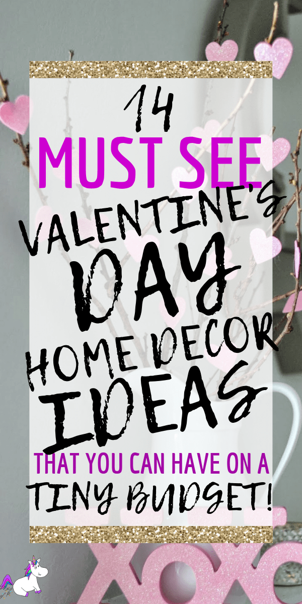 14 Stunning Valentine's Day Decoration Ideas you Will Seriously Fall In Love With This Year! #valentinesdaydecorationideas #valentines #valentinesdaycrafts #valentinesdecor #themummyfront Via: https://themummyfront.com | cute decor | home decor on a budget | Valentines on a budget | valentines decorations