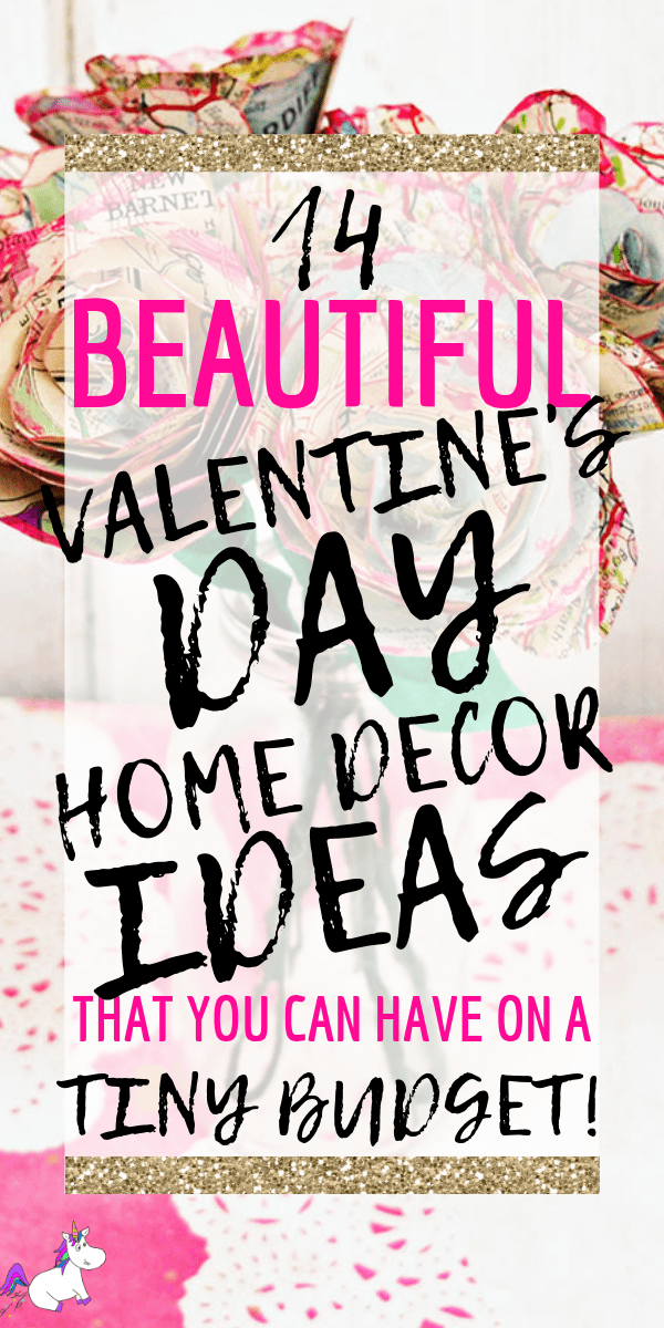 14 Stunning Valentine's Day Decoration Ideas you Will Seriously Fall In Love With This Year! #valentinesdaydecorationideas #valentines #valentinesdaycrafts #valentinesdecor #themummyfront Via: https://themummyfront.com | cute decor | home decor on a budget | Valentines decor for the home