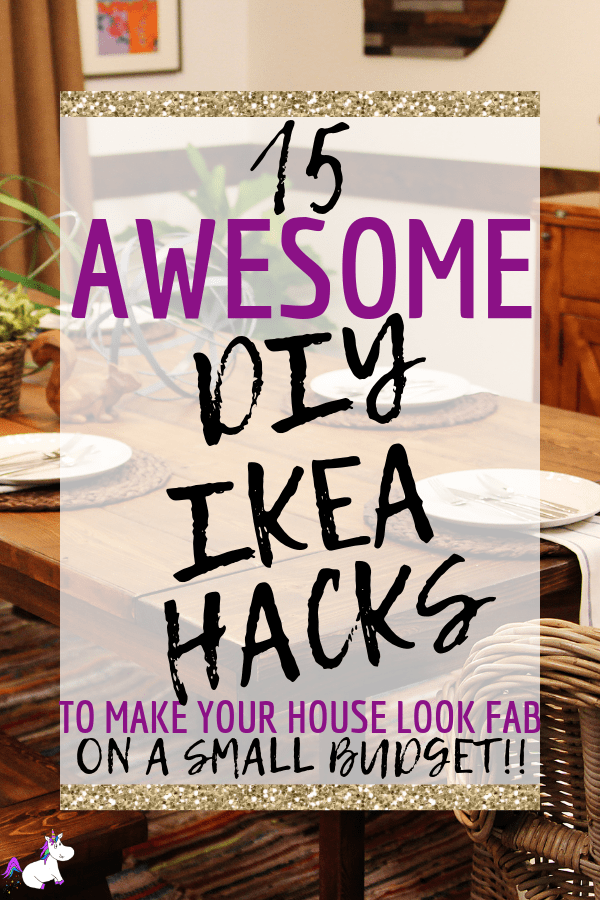 15 Awesome DIY Ikea Hacks To Make Your House Look Incredible On A Tiny Budget #ikeahacks #ikeahomedecor #homedecordiy #diyhomedecor #themummyfront #homedecoronabudget Via: https://themummyfront.com