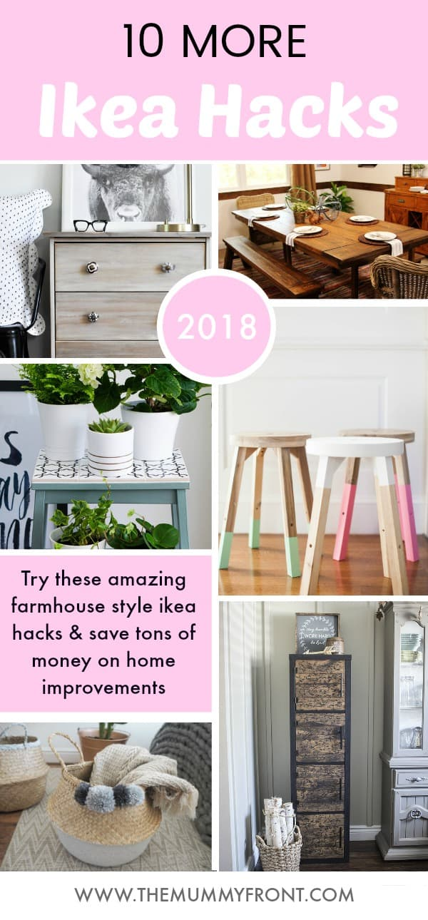 10 Farmhouse Style Ikea Hacks That Will Save You Tons of Money #ikea #ikeahacks #ikeaides #farmhouse #farmhousestyledecor #farmhousedecor #homedecor #budgethomedecor #cheap #roomidea #homedecordiy #diy