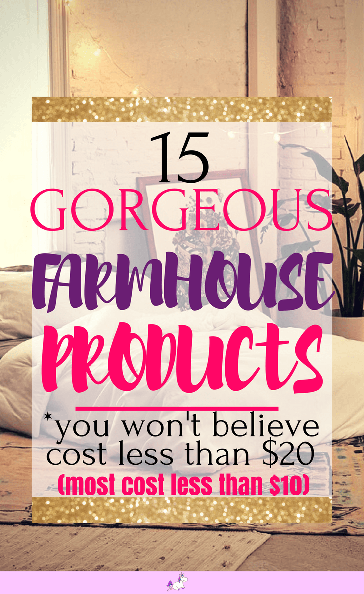 15 gorgeous farmhouse products that cost less than $20 #giftideas #rustic #homedecor #home #decor #homedecoridea #homeideas #dreamhome #giftideas #rustichomedecor #farmhouse #farmhousehomedecor #housewarminggifts #housewarming #farmhousehomedecor #rustichomedecor #rusticfarmhousestyle #rusticfarmhousehomedecor #budgetgifts #homedecorbudget #gorgeousgifts