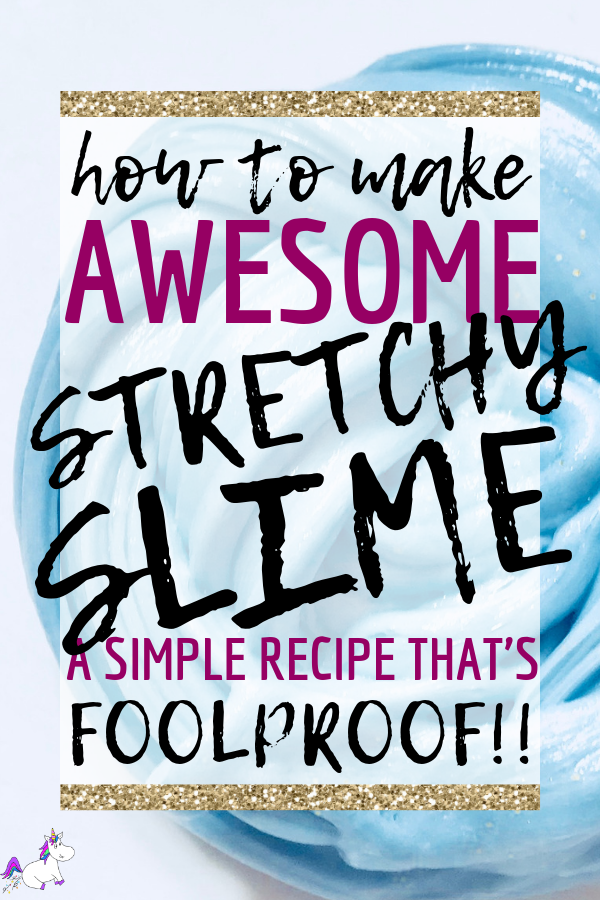 How To Make The Best Stretchy Slime | Simple slime recipe | activities for kids | concoctions for kids | DIY Slime | kids craft ideas | Via: https://themummyfront.com #themummyfront #slime #easyslimerecipe #slimerecipe #activitiesforkids