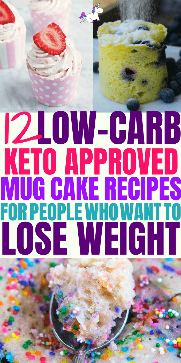 12 Delicious Keto Mug Cakes That Will Keep You In Ketosis (and Satisfy Your Sweet Tooth) #keto #ketodiet #ketomugcake #ketogenic #lowcarbweightloss