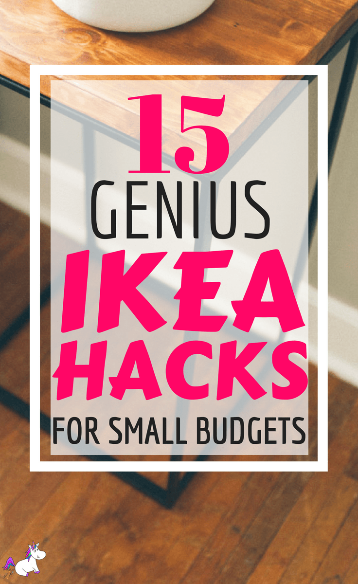 15 DIY Hacks From IKEA That You Can Do On A Tiny Budget #ikea #ikeahack #ikeahacks #diyprojects