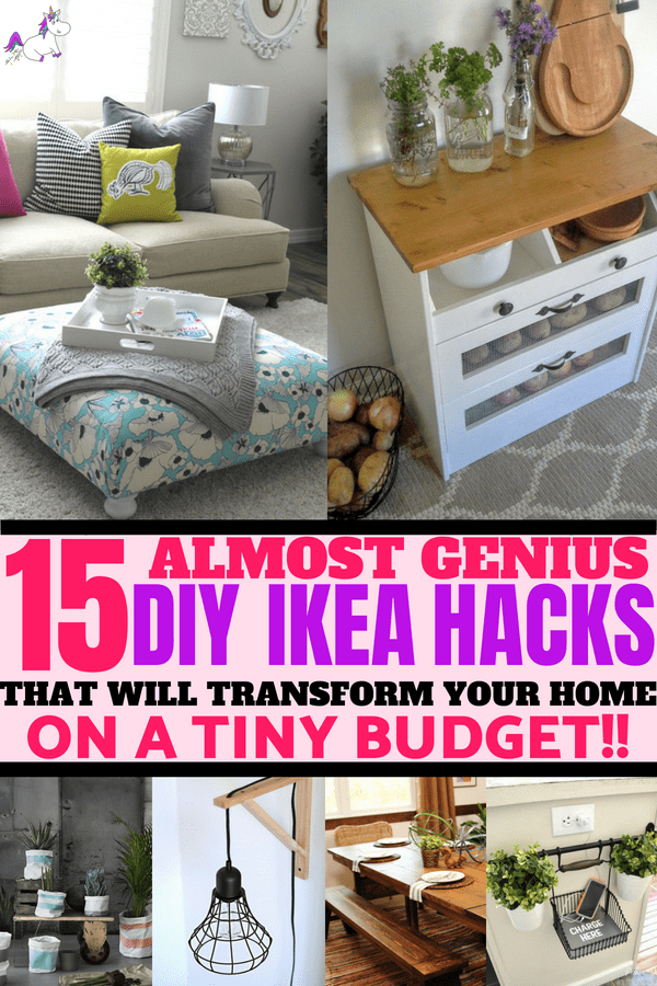 DIY Hacks From IKEA That You Can Do On A Tiny Budget #ikea #ikeahack #ikeahacks #homedecoronabudget
