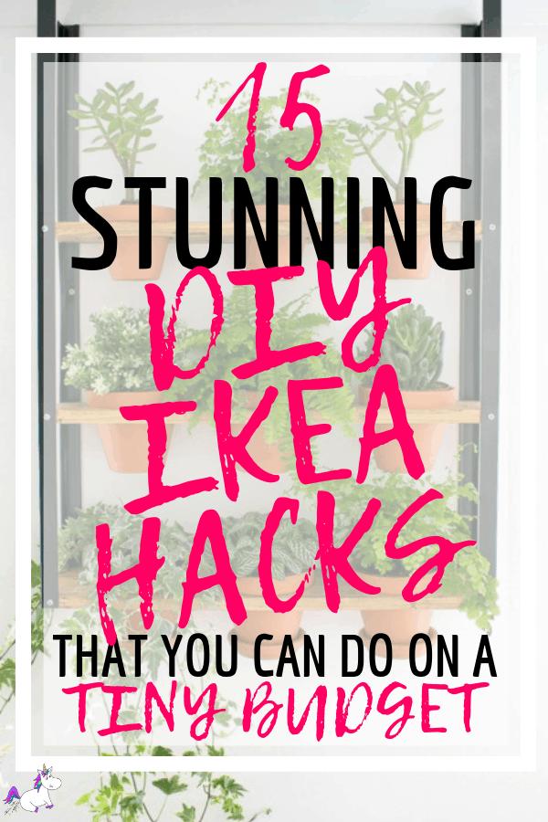 15 Stunning DIY Ikea Hacks That You can Do On A Tiny Budget | ikea | Ikea projects | ikea furniture | diy projects | Home decor on a budget | Via: https://themummyfront.com #ikeahacks #diyikeahacks #themummyfront #diyhomedecor #homedecoronabudget #ikea