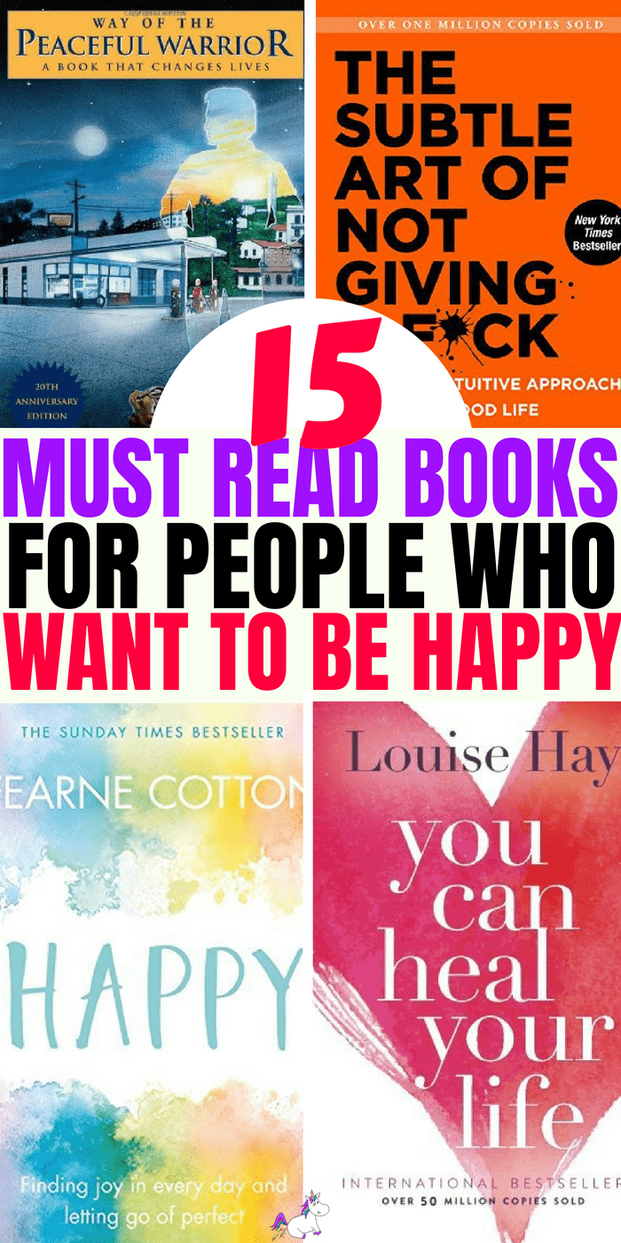15 Must Read Book For People Who Want To Be Happy #selfhelp #ebook #bookstoread