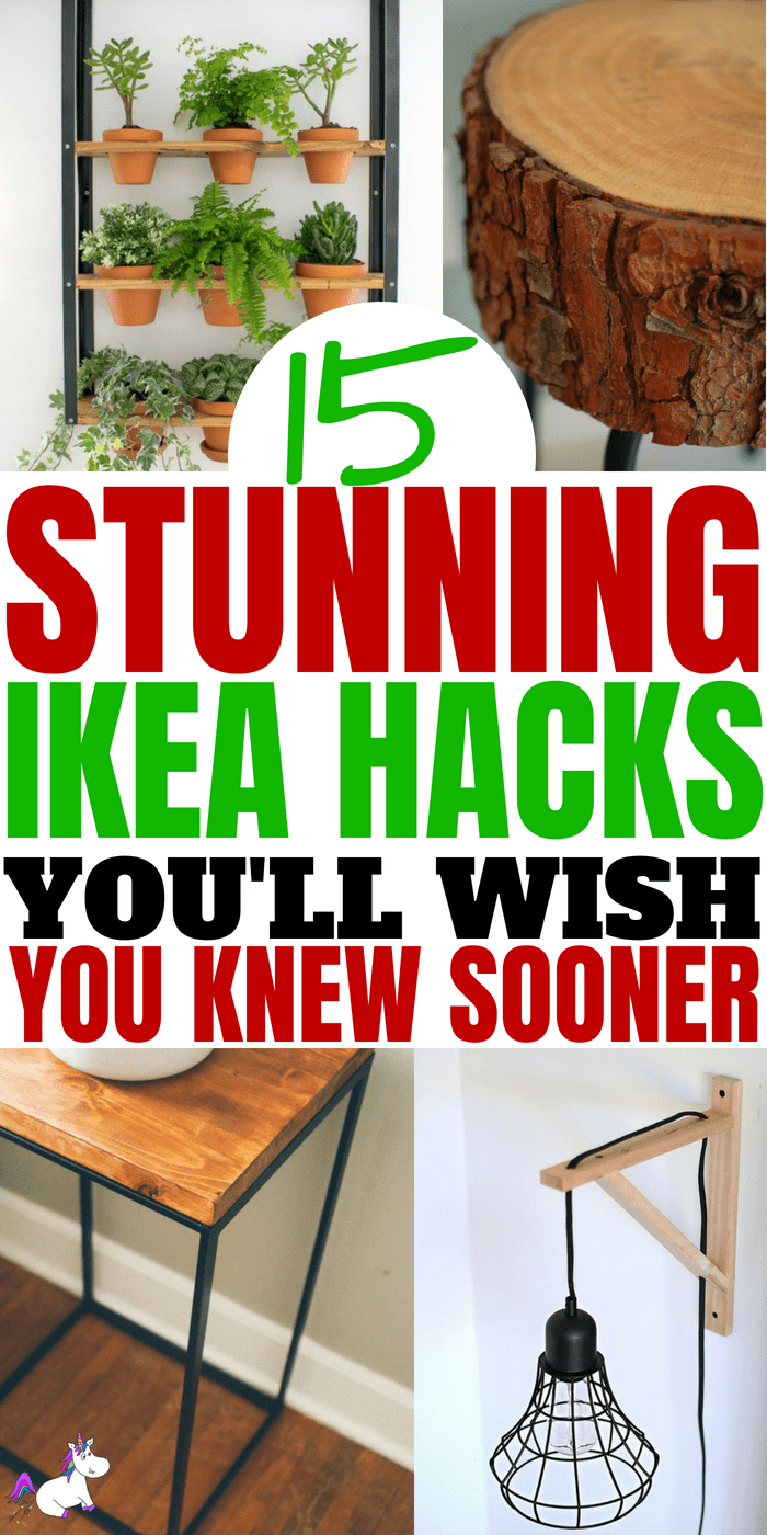 15 DIY Hacks From IKEA That You Can Do On A Tiny Budget #ikea #ikeahack #ikeahacks #homedecordiy