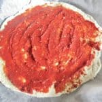 easy homemade pizza dough recipe with only two ingredients #easypizzadough #pizzacrustrecipe #pizza