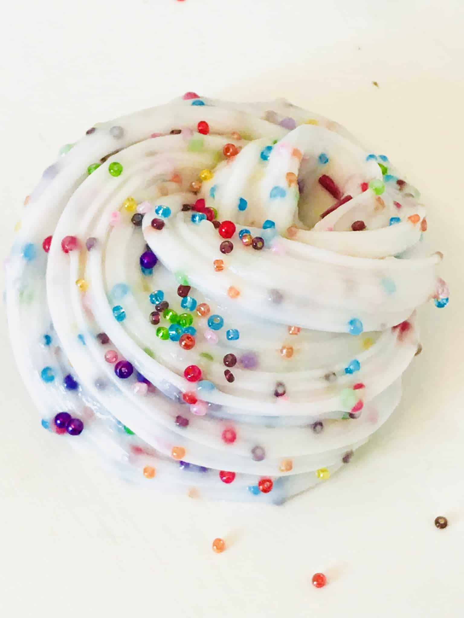 How To Make Vibrant Rainbow Slime #slime #rainbowslime #easyslime