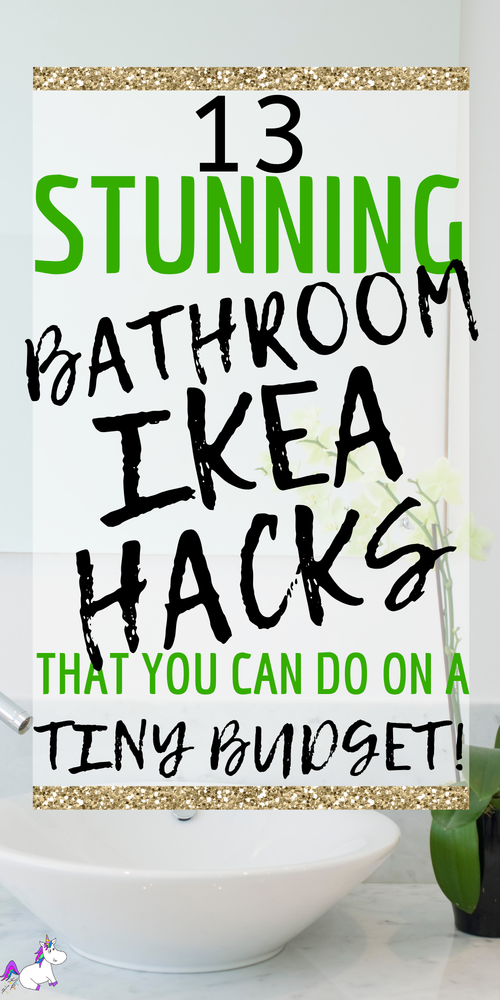 13 Stunning Bathroom Ikea Hacks You Can Do If You Love DIY Home Decor on A Budget! These Ikea Hack Ideas Will Sort and Organize Your Bathroom! #ikeahack #ikeahackers #ikeahacksbathroom #ikeahacksstorage #bathroomdesign #bathroomdecor #homedecoronabudget