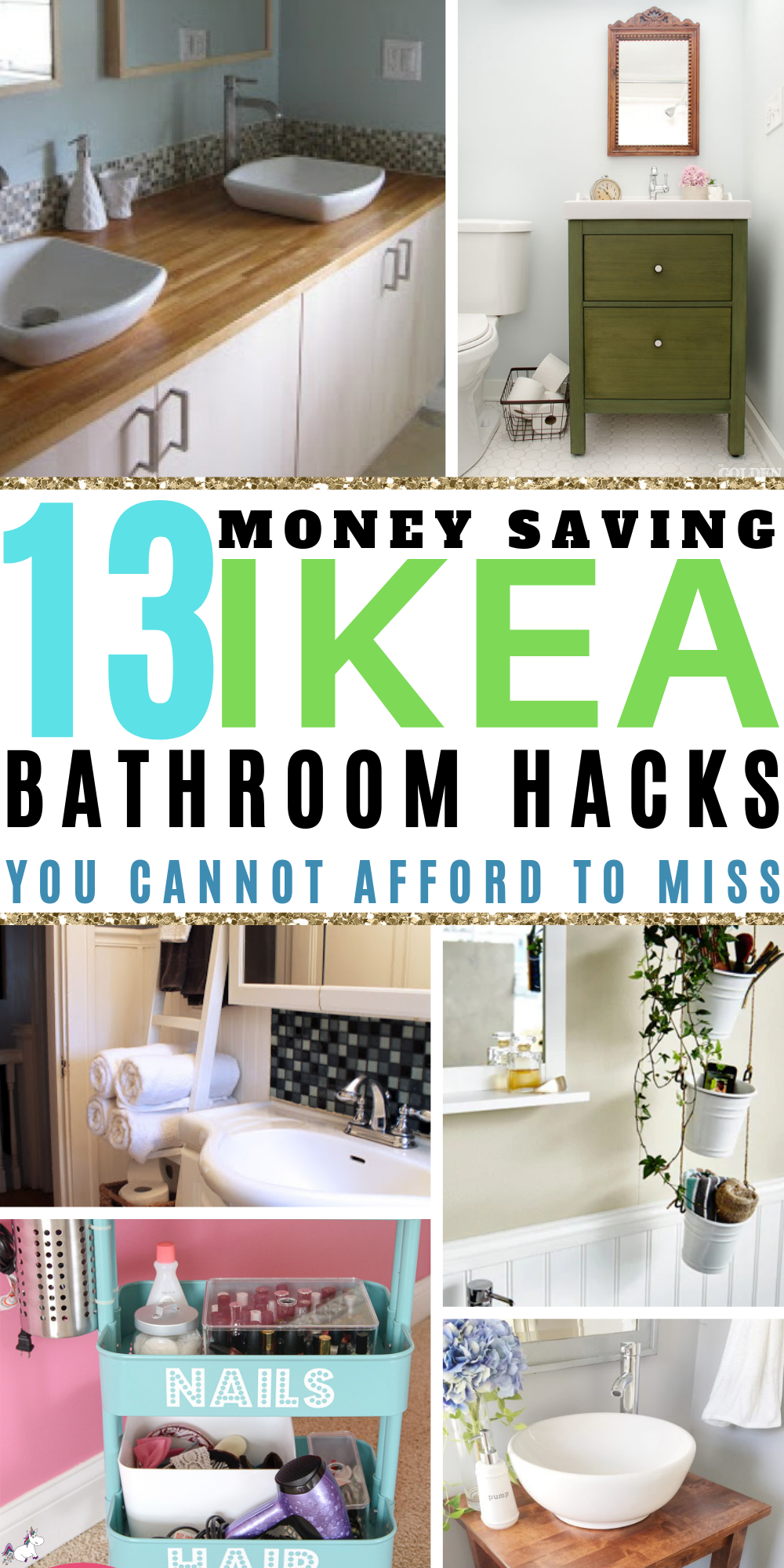 13 Awesome Ikea Bathroom hacks You Will Love If You Love Home Decor On A Budget | ikea hacks | Ikea organization hacks | Ikea storage hacks | Bathroom decor | #bathroomideas #bathroomdesign #bathroomremodelling #bathroomikeahacks #ikeabathroomhacks #diybathroomdecor #bathroomorganization #bathroomstorage #homedecoronabudget