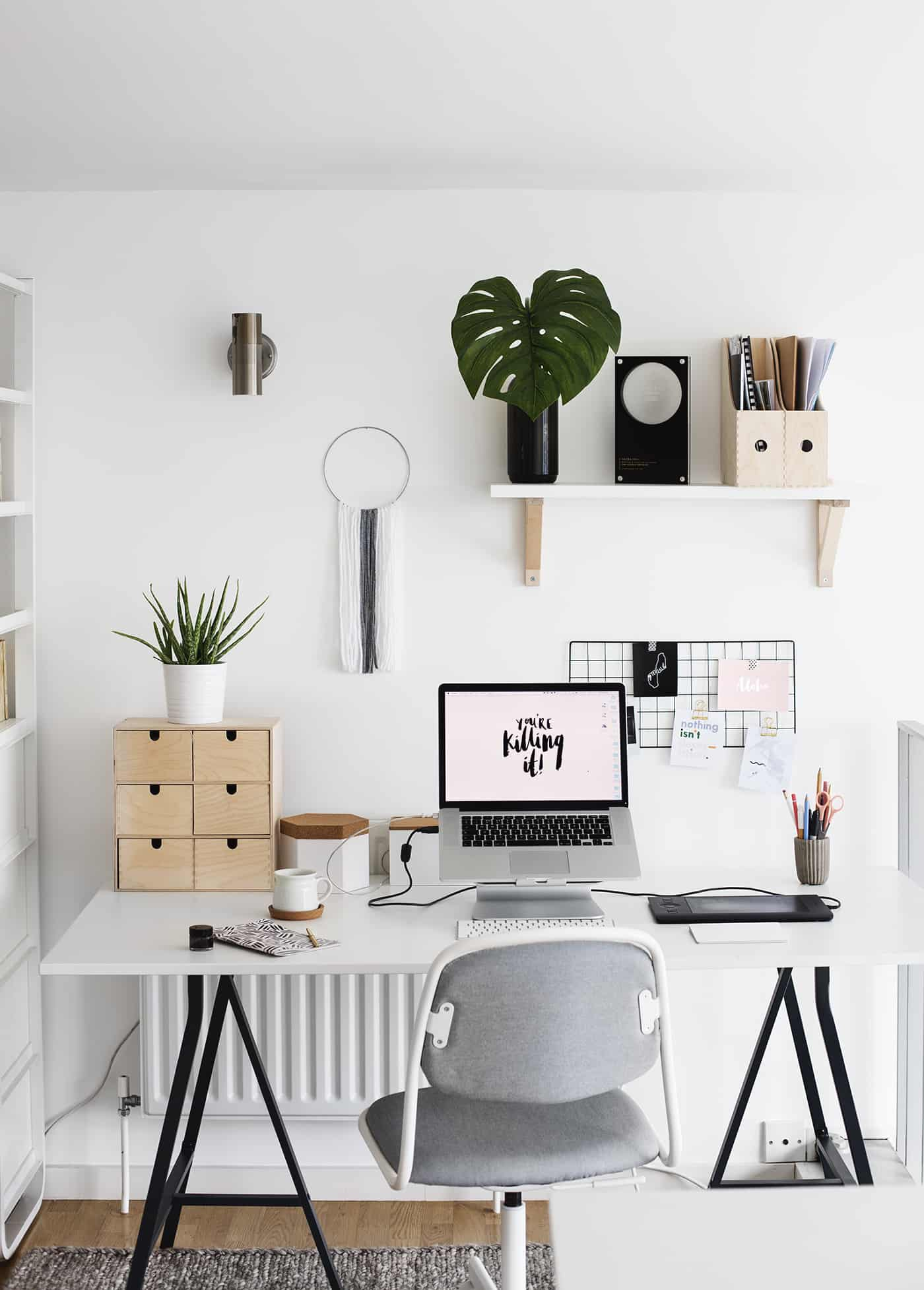 55 Small Home Office Ideas That Will Make You Want To Work ...