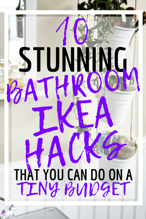 13 Stunning Ikea Bathroom Hacks You Need To Try Right Now | Home decor | IKEA HACKS | DIY Home decor | via: https://themummyfront.com | Home Decor On A Budget #ikeahacks #ikeahack #homedecoronabudget #homedecor #themummyfront.com #homedecorideas #diy #diyprojects #diyhomedecor