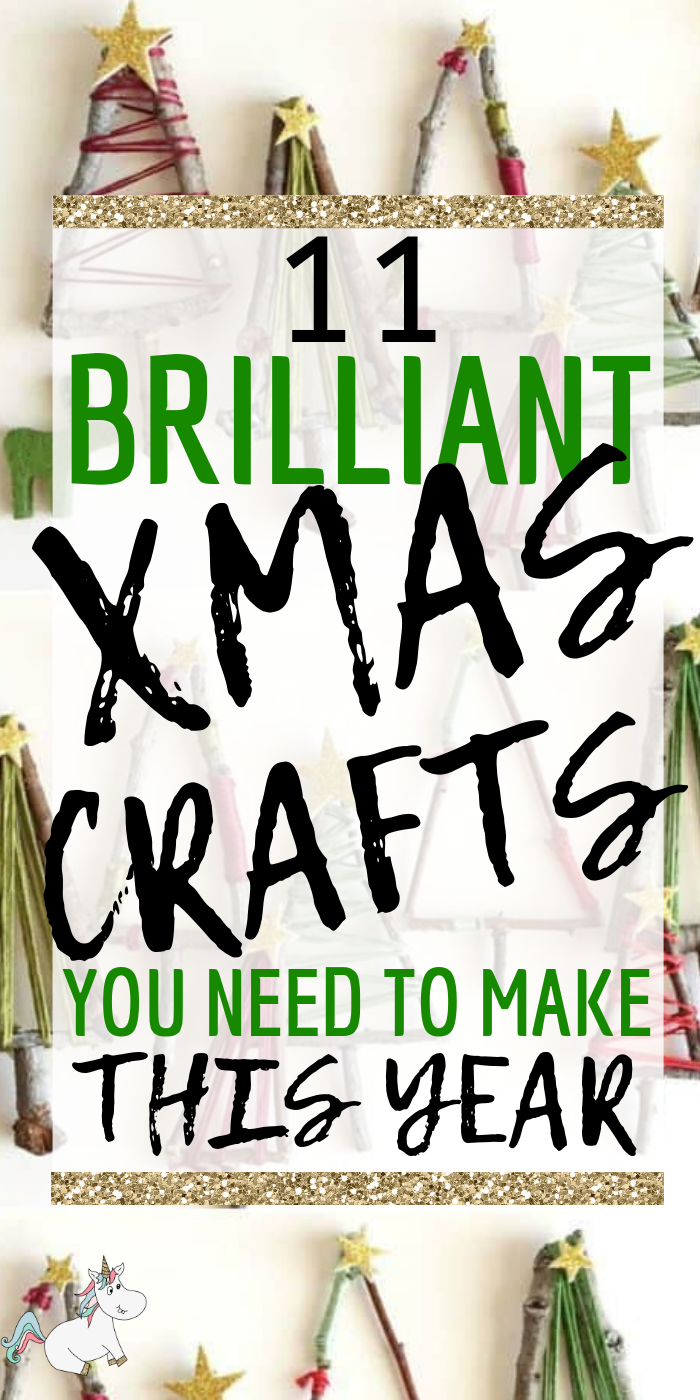 11 Brilliant Christmas Crafts You Need To Make This Year! If you love DIY Christmas projects you will love these festive crafts that will take your festive home decor to the next level! #christmas #christmascrafts #christmasdecor #xmascrafts #xmasdecorations #xmas #themummyfront