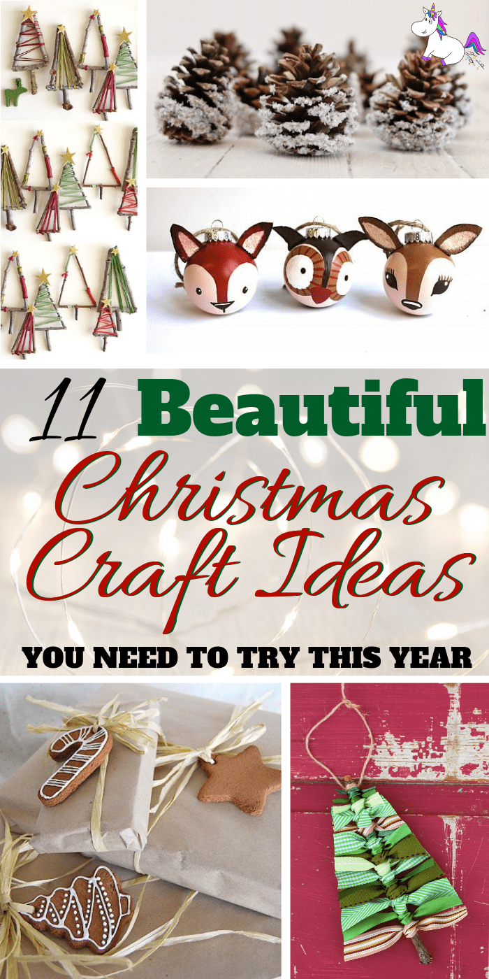 11 Stunning Handmade Christmas Craft Ideas You need To Try This Year | DIY Christmas Decorations | Festive decoration ideas | Noel | Via: https://themummyfront.com | | handmade christmas crafts #christmasdecorations #festiveideas #handmadechristmascrafts #christmascrafts #festivecrafts #themummyfront.com #christmastree #christmascraftsforkids