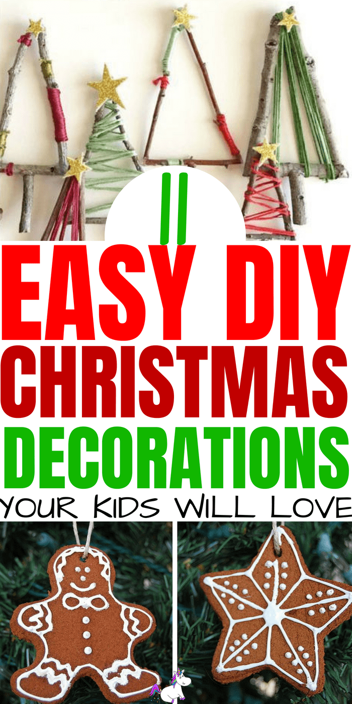 11 Stunning DIY Christmas Decorations You Have To Make This Year #christmasdecorations #rusticchristmas #easychristmascrafts #festivedecorations #christmasideas