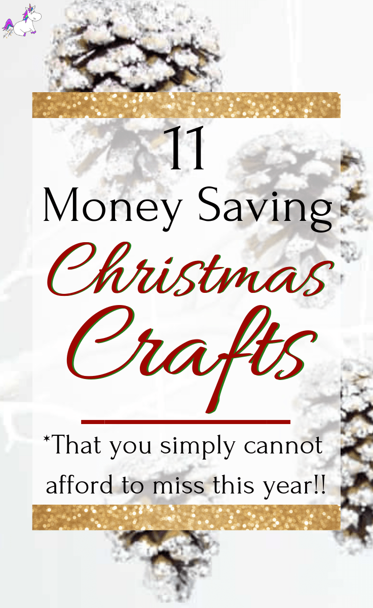 11 Money Saving Christmas Crafts You Need To Try This Year | Christmas decoration ideas that will make your christmas room look amazingly festive! Via: https://themummyfront.com #christmascrafts #diychristmasdecorations #decorationideas #xmastreecrafts #themummyfront #christmasdecorationideas