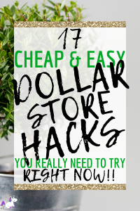 17 Cheap & Easy Dollar Store Hacks You Really Need To Try Right Now | Organizing tips for the home | life hacks every girl needs to know | cheap hacks | Via: https://themummyfront.com #themummyfront #organizingtips #organizingtipsforthehome #lifehacks #dollarstorehacks