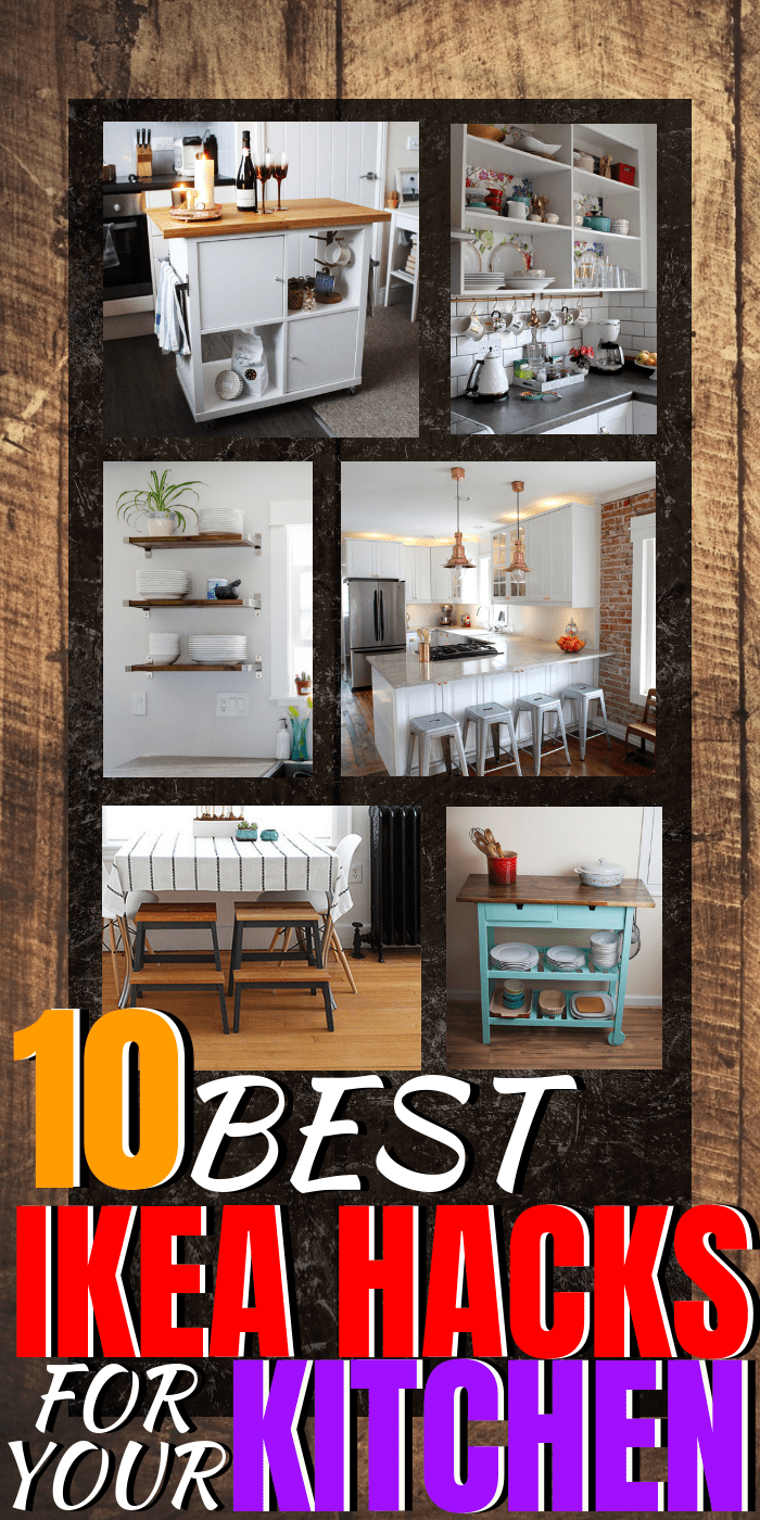 10 of the BEST Ikea Hacks for your kitchen   Home decor on a budget   kitchen ideas #homedecor #ikeahacks #ikeahack via: themummyfront.com