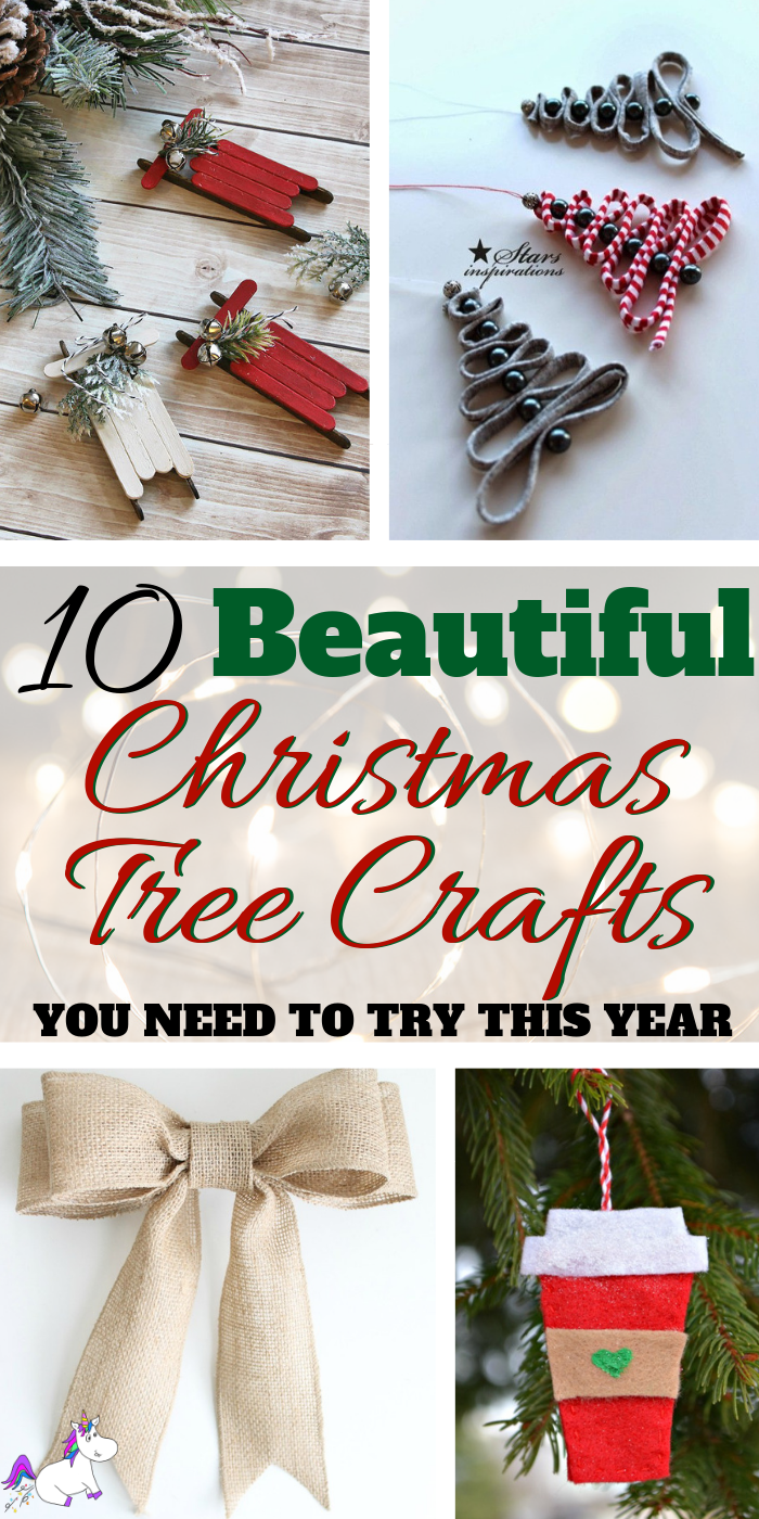 10 Stunning Handmas Christmas Craft Ideas You need To Try This Year | DIY Christmas Decorations | Festive decoration ideas | Noel | Via: https://themummyfront.com | | handmade christmas crafts #christmasdecorations #festiveideas #handmadechristmascrafts #christmascrafts #festivecrafts #themummyfront #christmastree #christmascraftsforkids