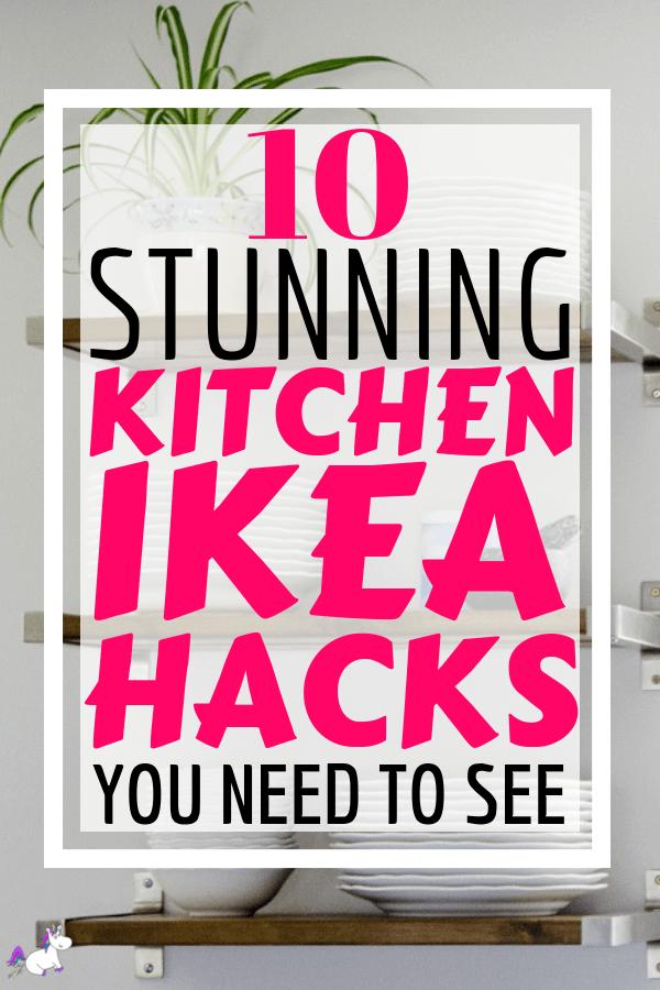 10 Stunning Ikea Hacks For Your Kitchen #ikeahack #ikeahacks #homedecor #diyhomedecor