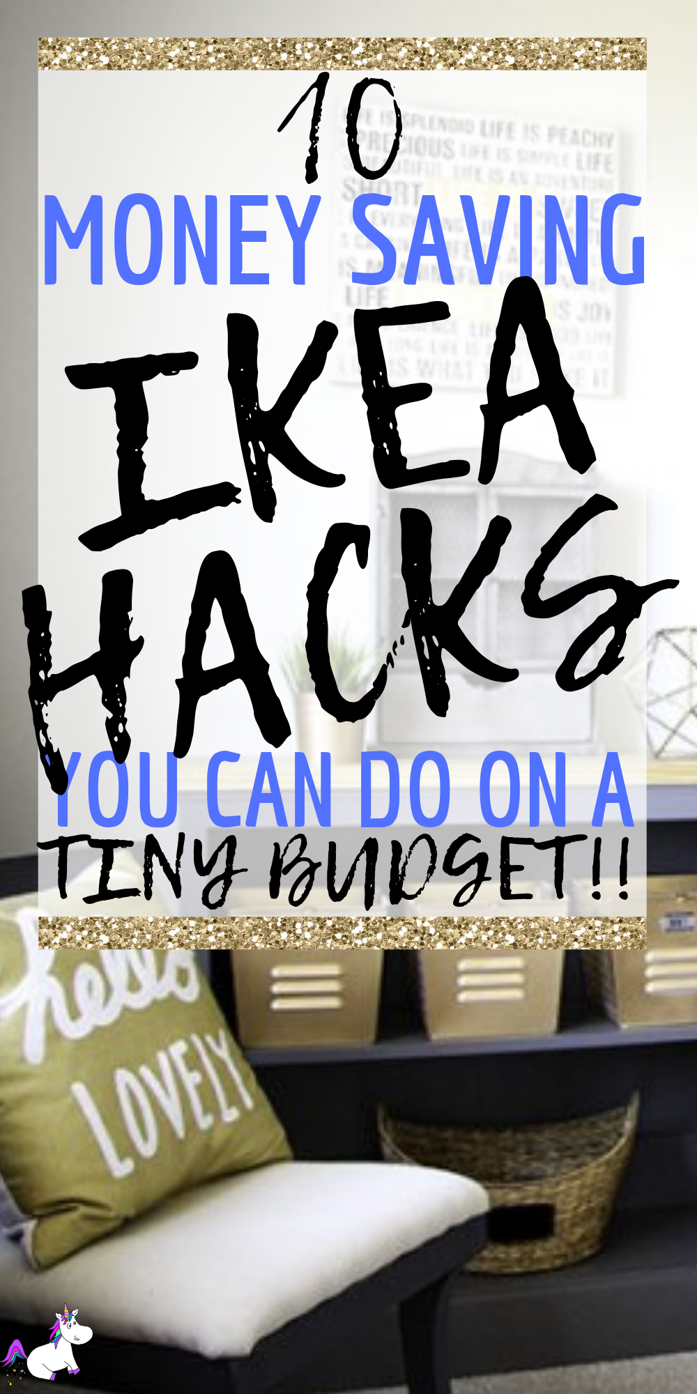 10 Money Saving Ikea Hack Tutorials You Can Do On A Tiny Budget! DIY home decor | best ikea hacks | Creative Home decor | #creativehomedecor #ikeahacks #bestikeahacks