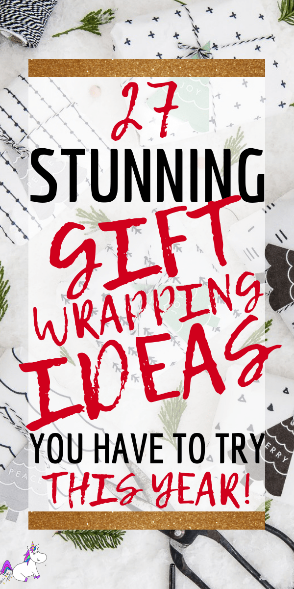 27 Christmas Gift Wrapping Ideas You'll Definitely Want To Try | No Fancy Gift Wrapping Techniques Required For These Stunning Present Wrapping Ideas | Christmas Gifts | Via https://themummyfront.com | Elegant Gift Wrapping | Gift Wrapping | #christmas #diychristmaswrapping #christmasgiftwrappingideas #christmasgifts #themummyfront.com #diychristmasgift #handmadegiftideas