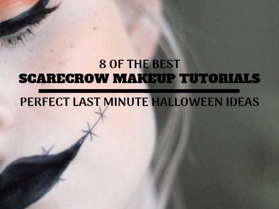 Scarecrow Makeup Ideas - 8 of the best halloween makeup tutorials, last minute halloween makeup